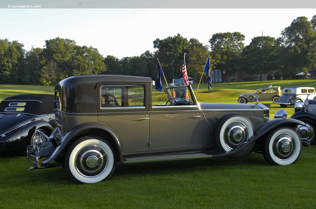 auction results and data for 1933 rolls-royce phantom ii
