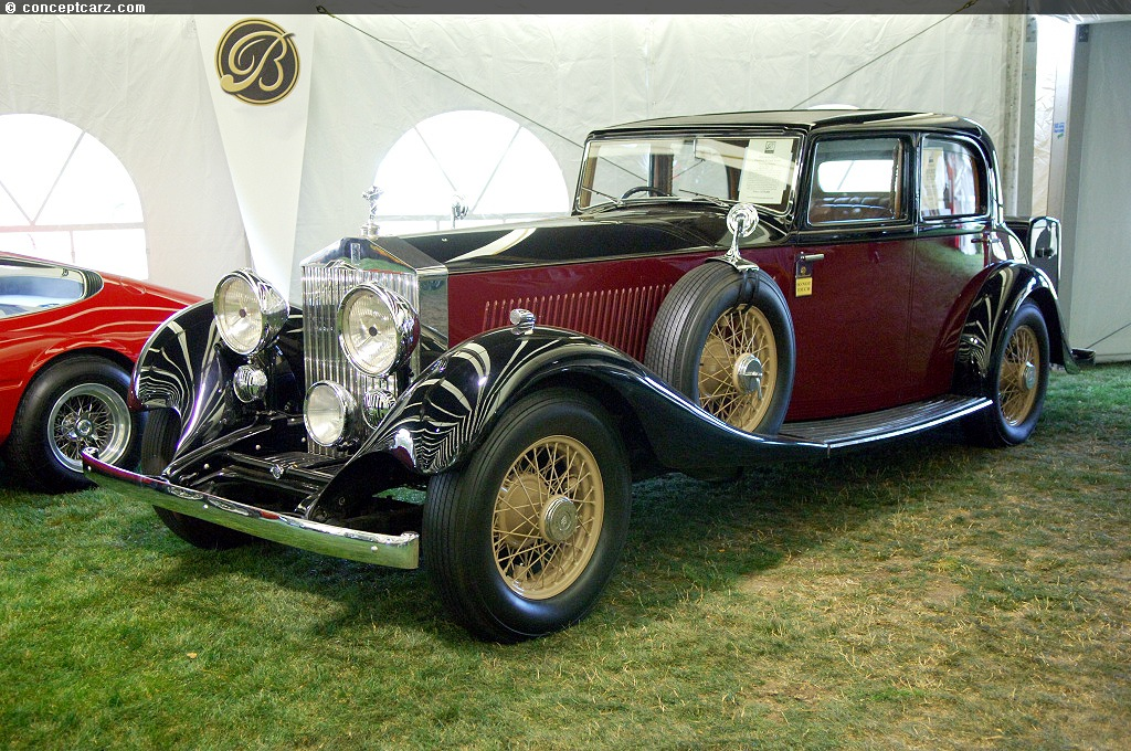 1934 Rolls-Royce Phantom II - conceptcarz.com