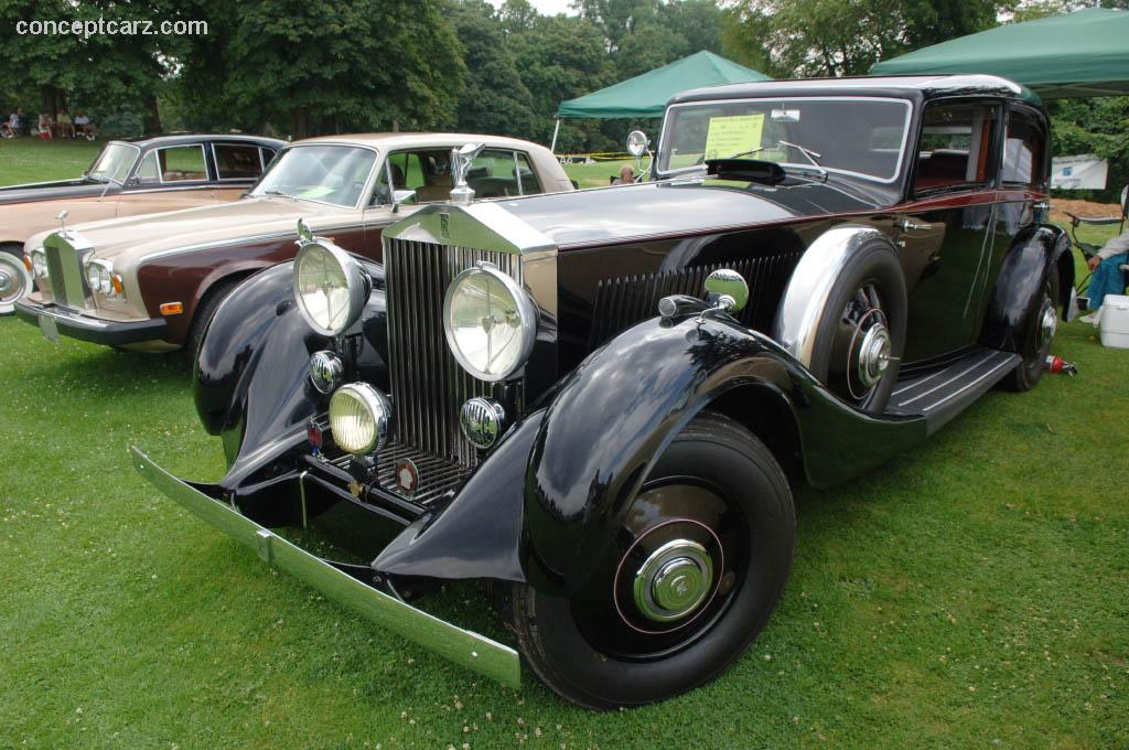 1934 rolls royce phantom ii at the pittsburgh vintage grand prix car show. Black Bedroom Furniture Sets. Home Design Ideas