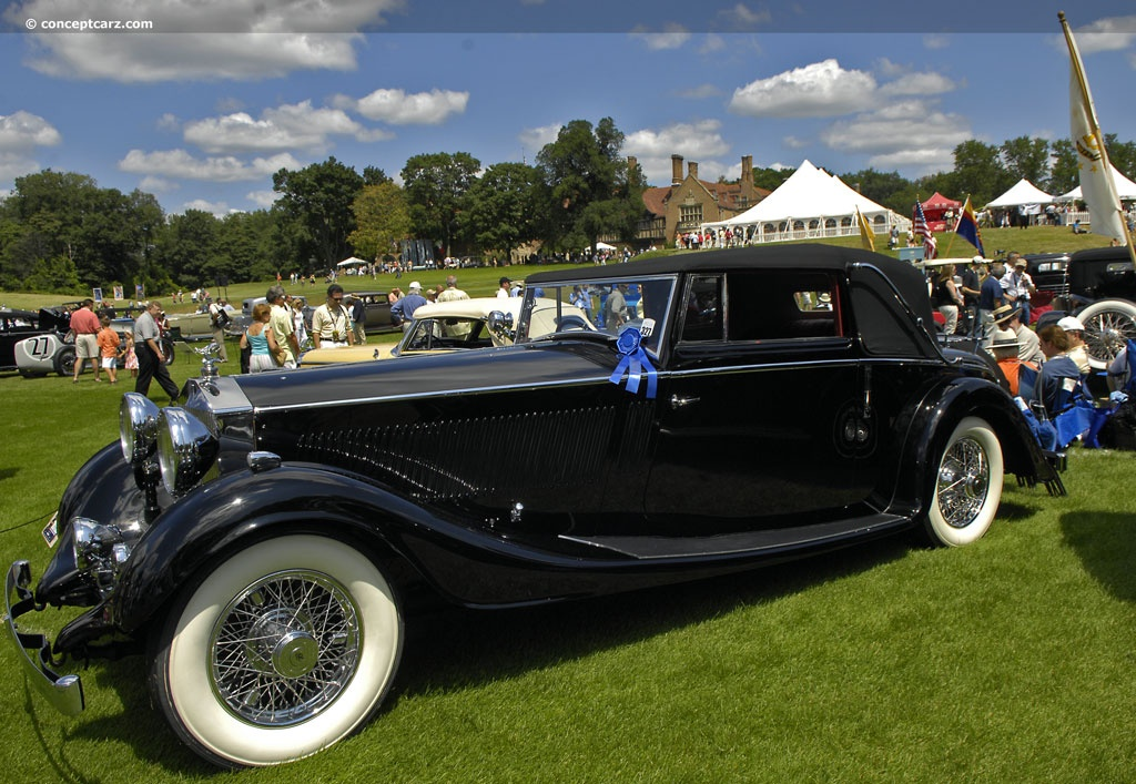 1935 rolls royce phantom ii p2 conceptcarz. Black Bedroom Furniture Sets. Home Design Ideas