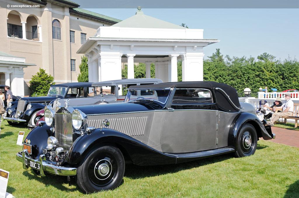 1936 Rolls Royce Phantom Iii Conceptcarz Com