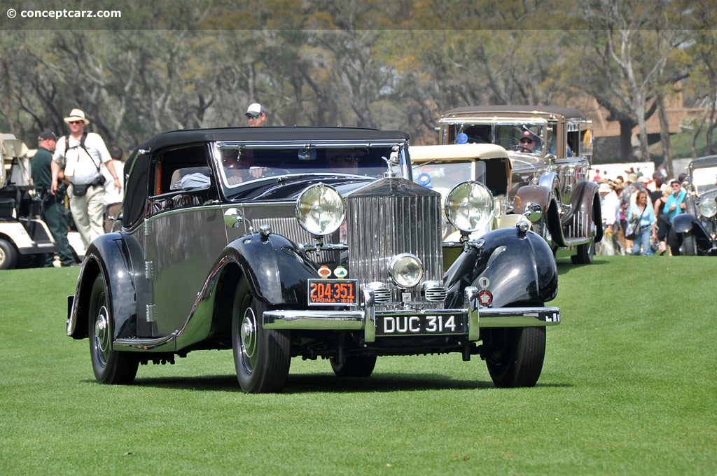 1936 rolls royce phantom iii at the 17th annual amelia island concours d 39 elegance. Black Bedroom Furniture Sets. Home Design Ideas