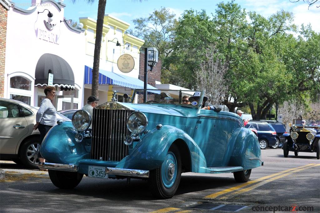 1937 Rolls-Royce Phantom III - conceptcarz.com