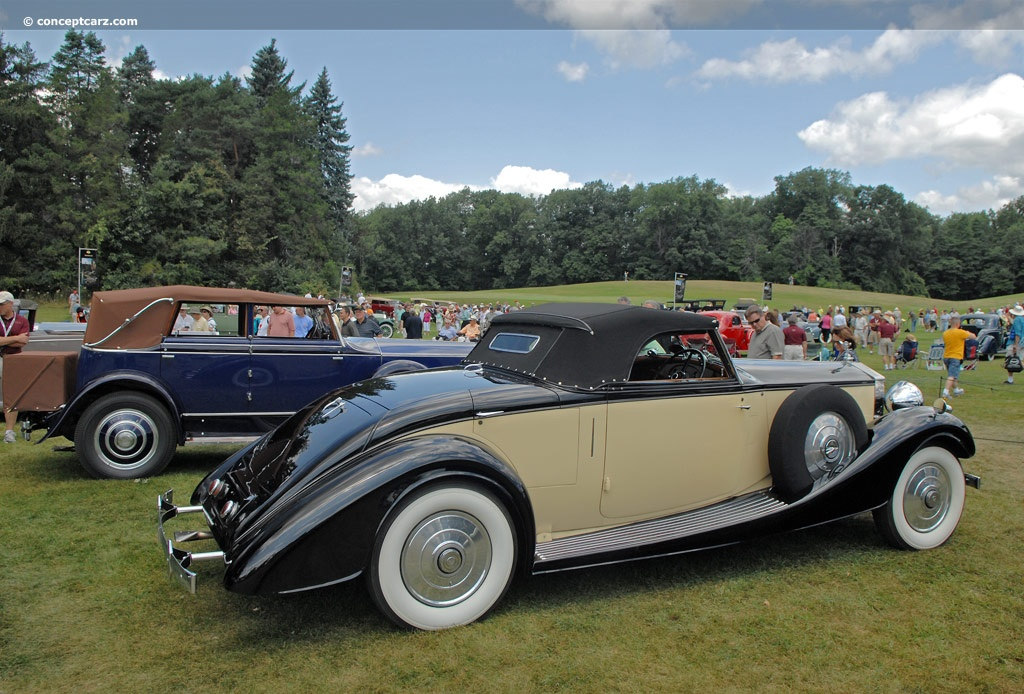 auction results and data for 1937 rolls royce phantom iii. Black Bedroom Furniture Sets. Home Design Ideas