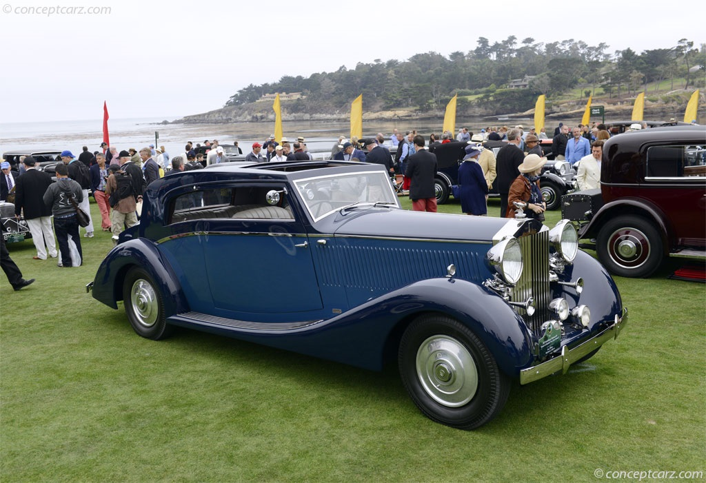 1937 rolls royce phantom iii at the pebble beach concours d 39 elegance. Black Bedroom Furniture Sets. Home Design Ideas