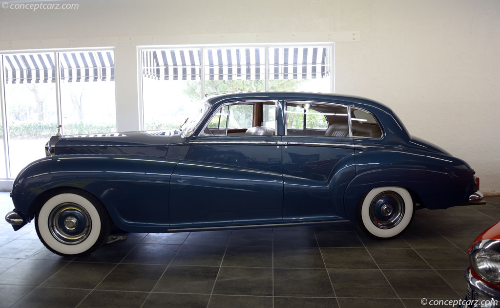 Auction Results And Data For 1955 Rolls Royce Silver