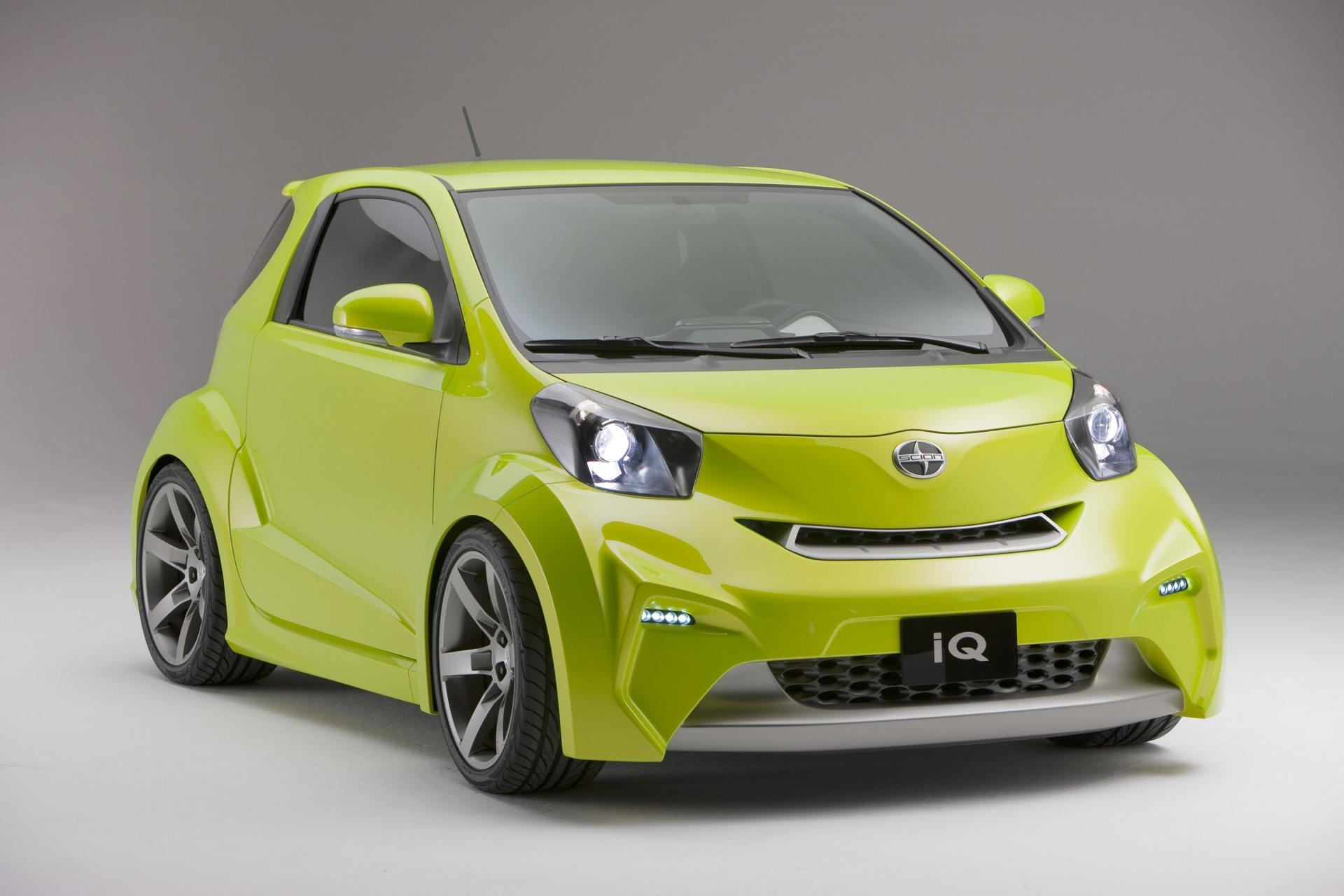 Ford Fiesta Roof Rack >> 2009 Scion iQ Concept Technical Specifications and data ...