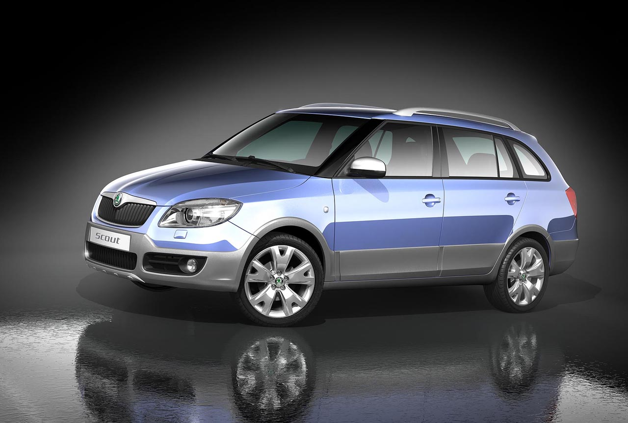 2008 skoda fabia scout pictures news research pricing. Black Bedroom Furniture Sets. Home Design Ideas