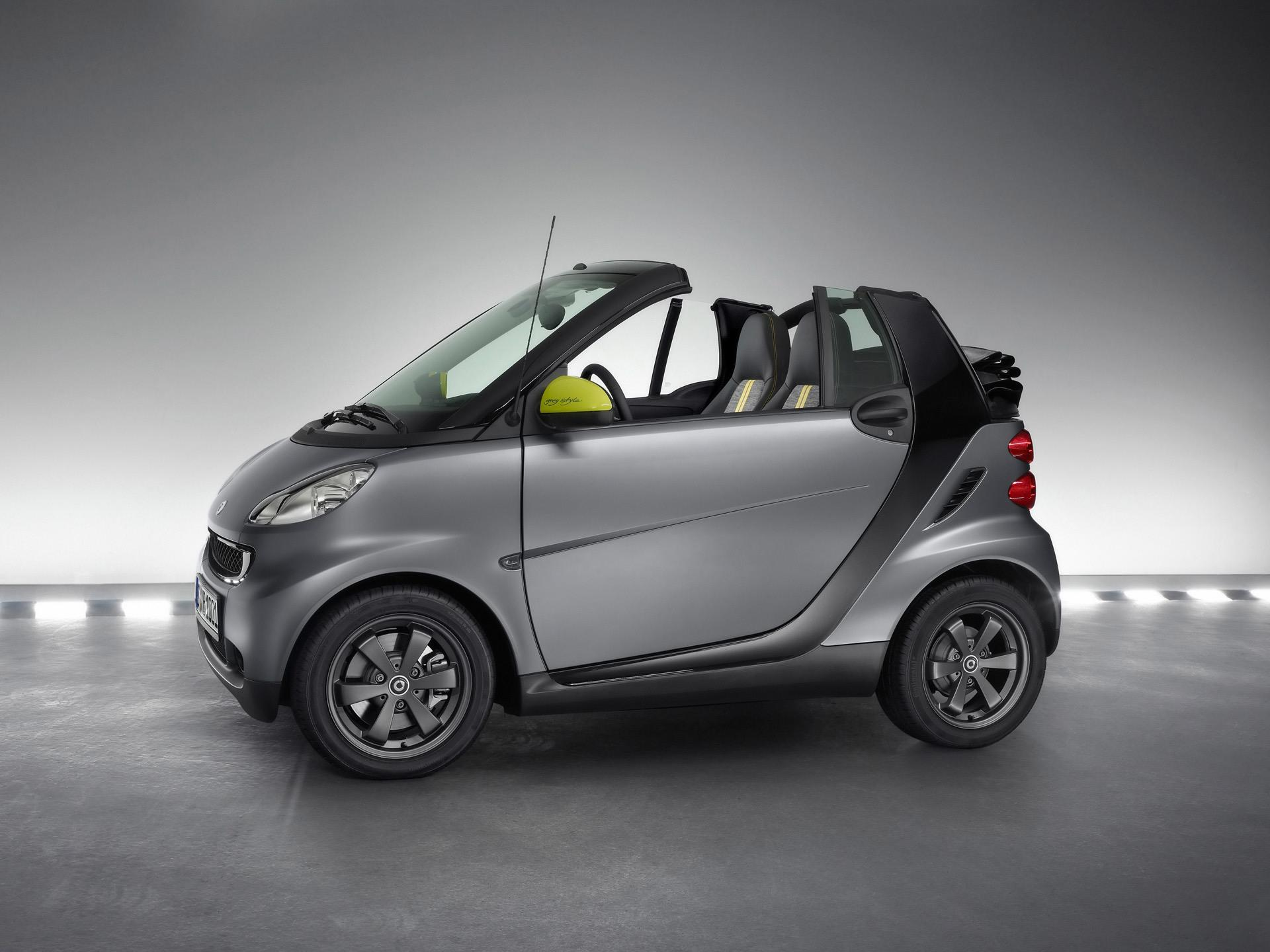 2010 smart fortwo greystyle edition pictures news research pricing conceptcarz com