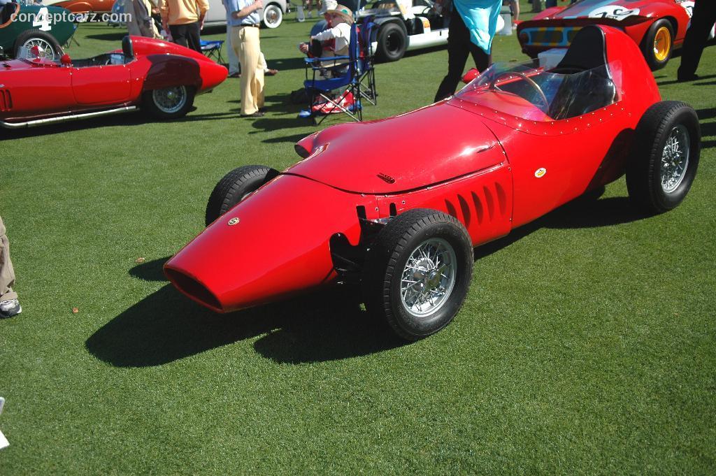 Chassis Stanguellini Monoposto Formula Junior Chassis