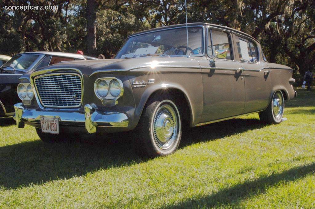1961 Studebaker Lark Technical Specifications and data Engine