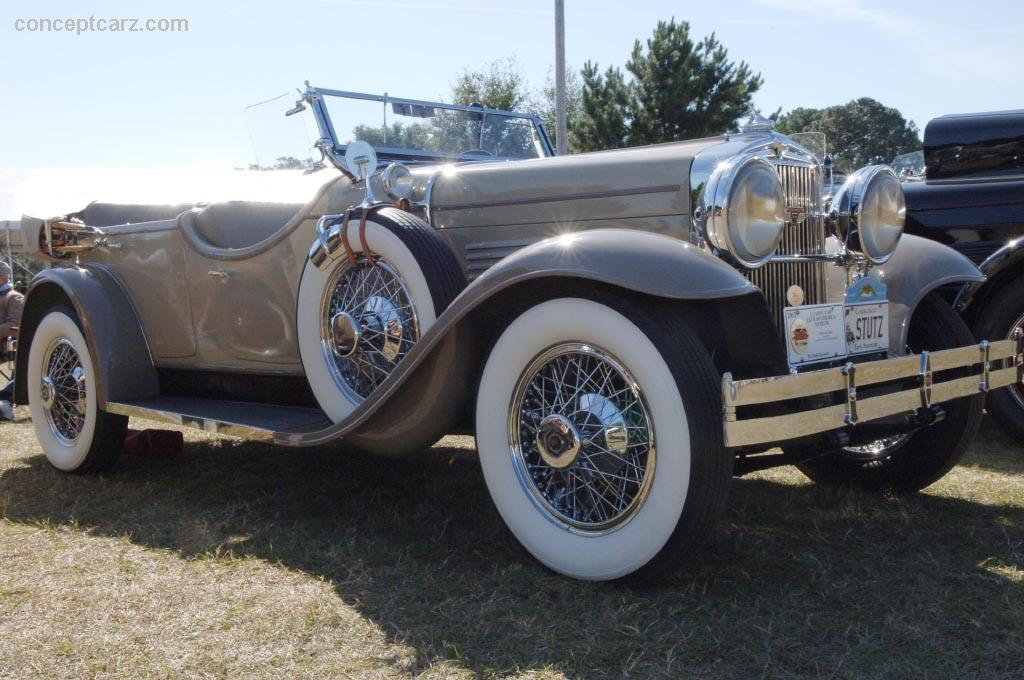 1929 Stutz Model 6 Blackhawk Image