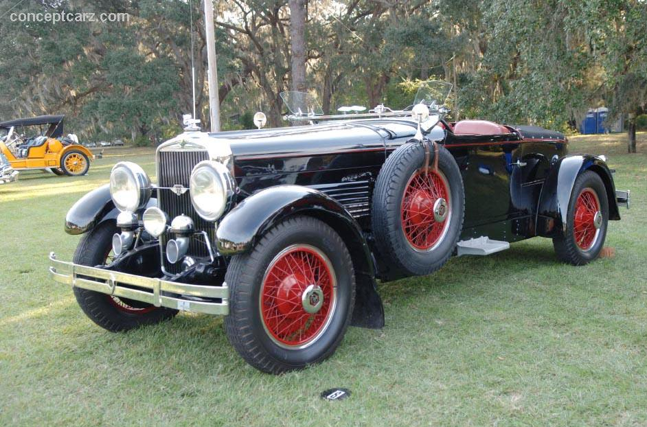 1929 Stutz Model 8 Blackhawk Image