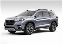2017 Subaru Ascent Concept image.