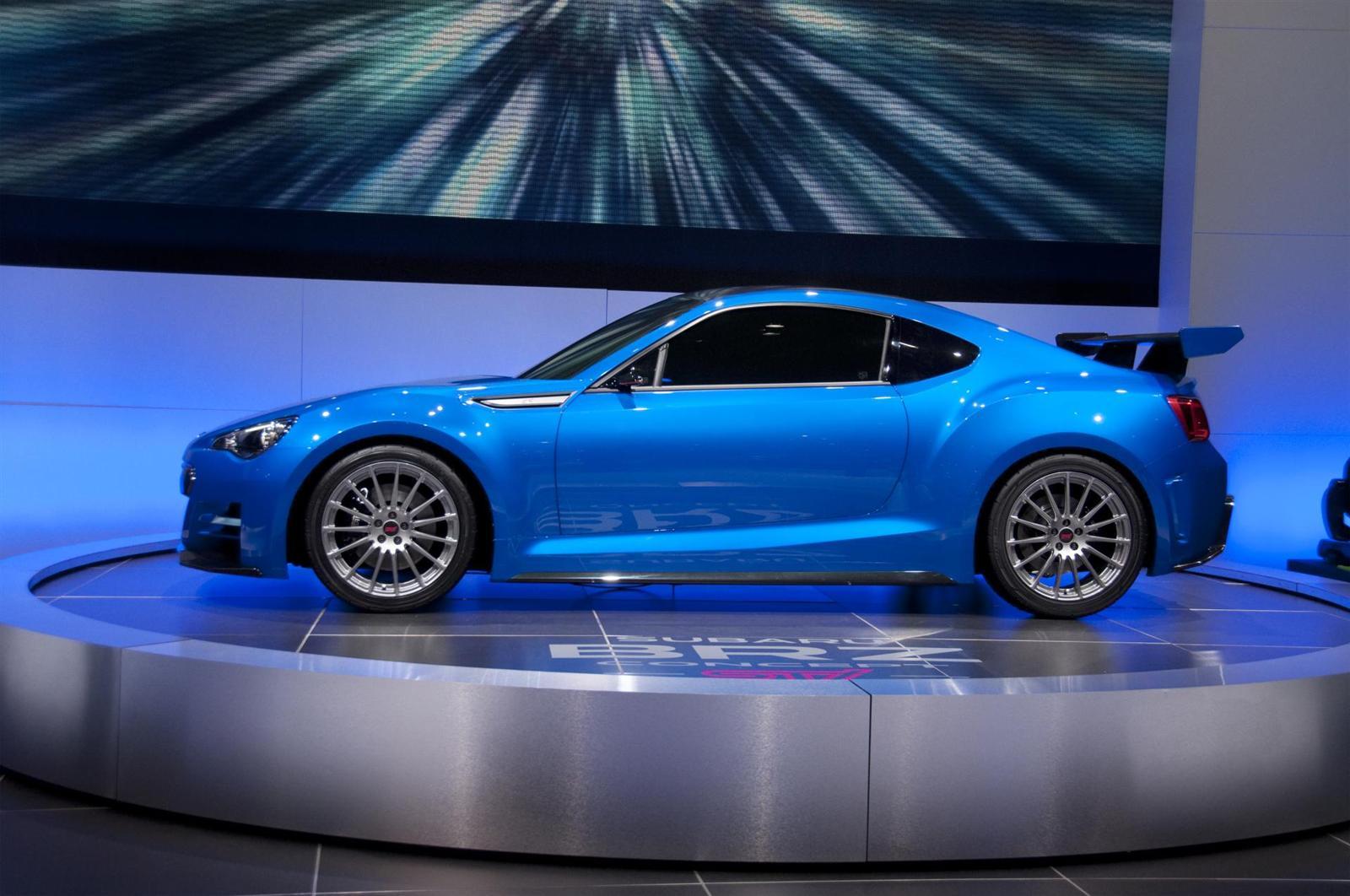 2012 Subaru BRZ Concept STi Image