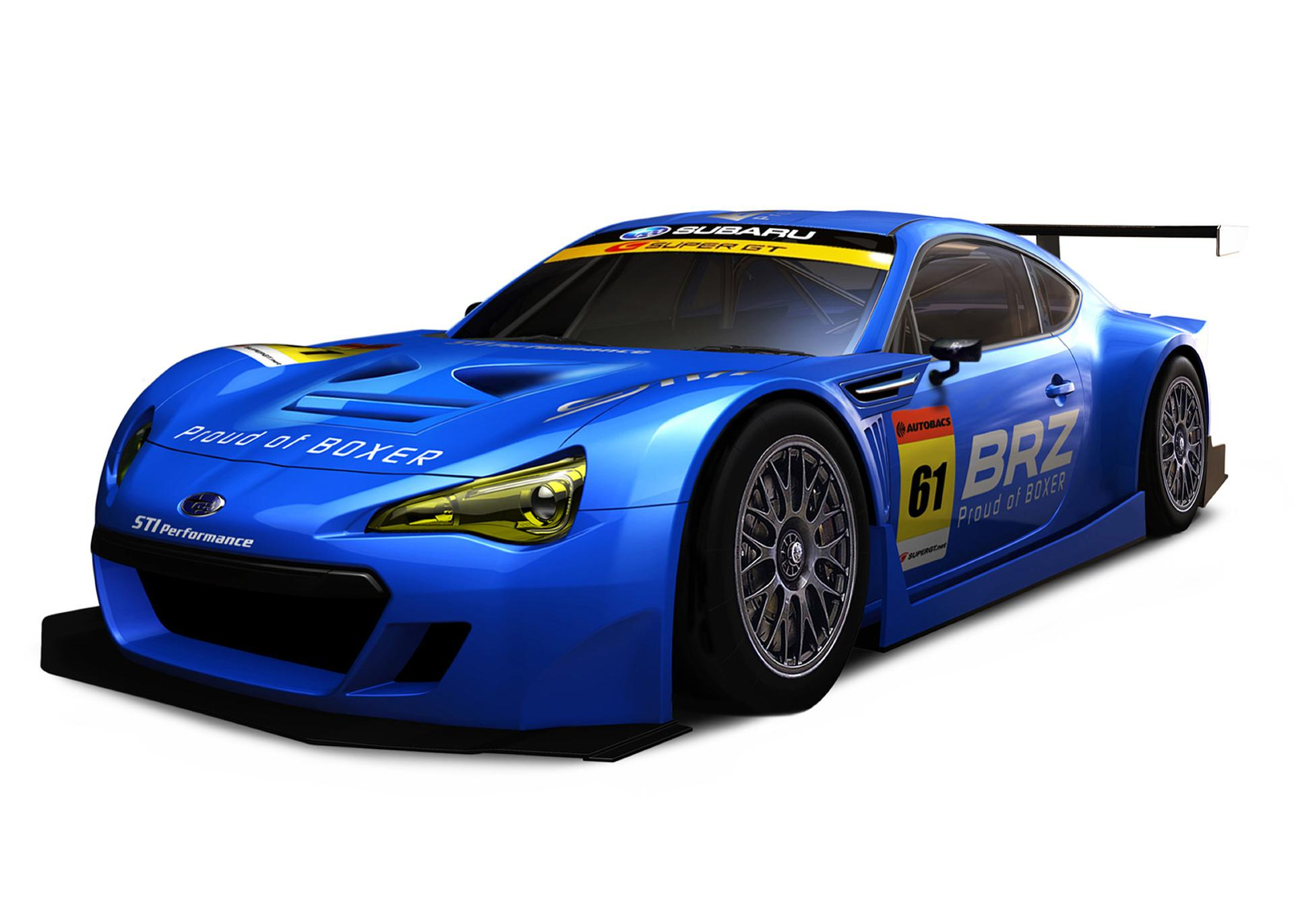 2012 Subaru BRZ GT300 Pictures, News, Research, Pricing ...
