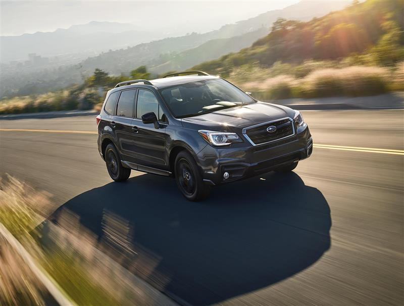 2017 Subaru Forester Black Edition