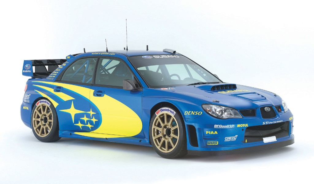 2007 Subaru Impreza WRC2006