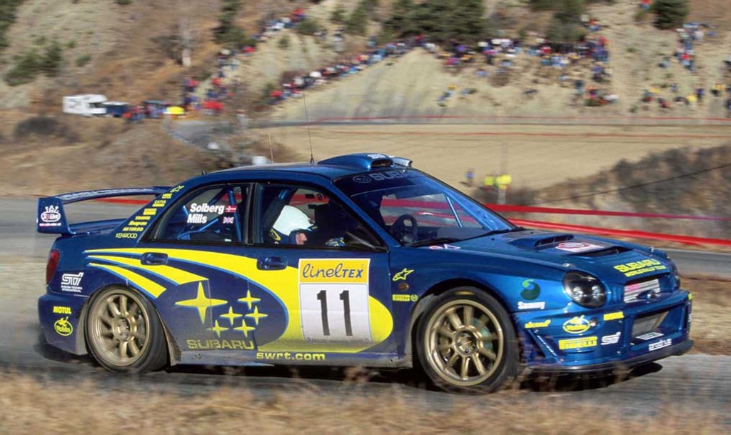 2002 Subaru Impreza Wrc Image