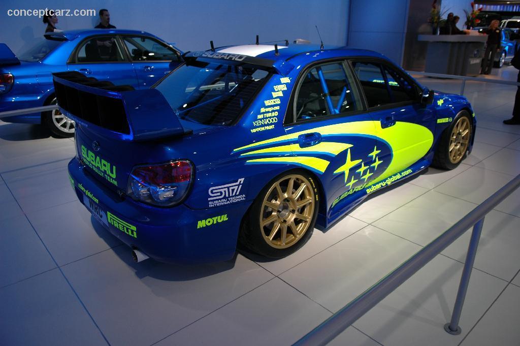 Subaru wrx sti 2006 wallpaper