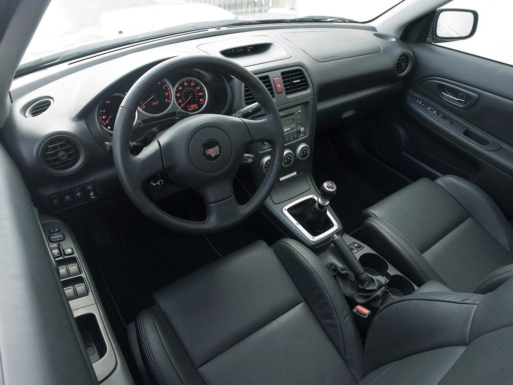 2007 subaru impreza wrx sti limited conceptcarz the interior of the 2007 impreza wrx vanachro Image collections