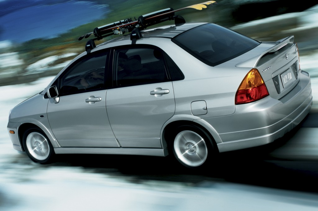 Suzuki Aerio Awd System