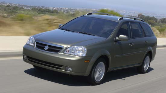 2007 Suzuki Forenza Pictures History Value Research News