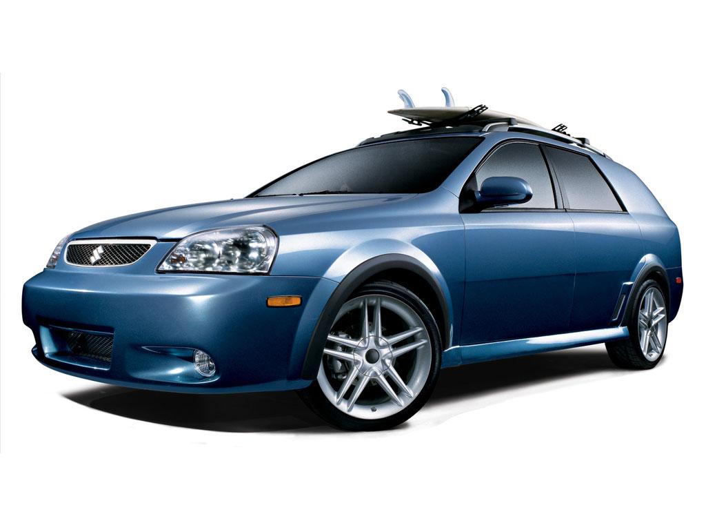 2006 Suzuki Sea Forenza Wagon Concept Pictures  History