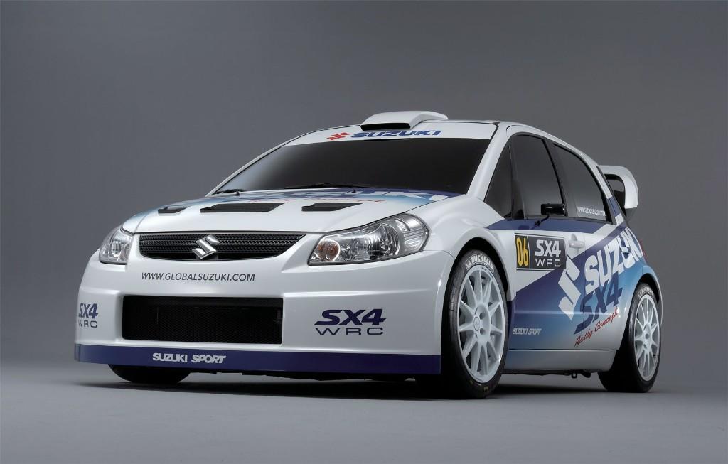 Suzuki Sx Wrc Body Kit