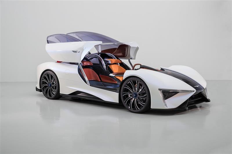 2017 Techrules Ren SUPERCAR Concept