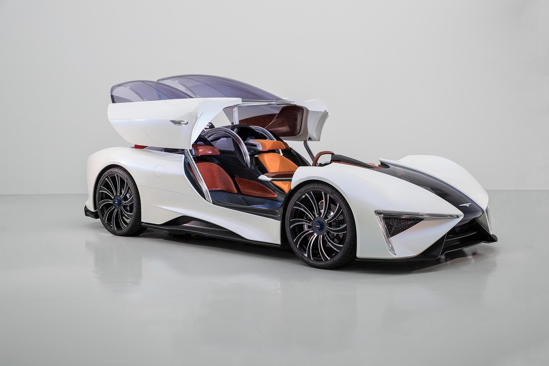 Techrules Ren SUPERCAR Concept pictures and wallpaper