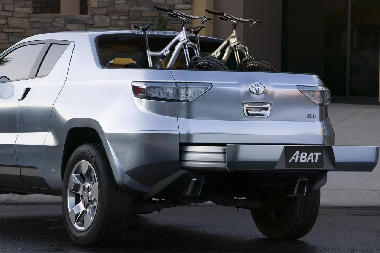 2008 Toyota A-BAT Hybrid Concept Image