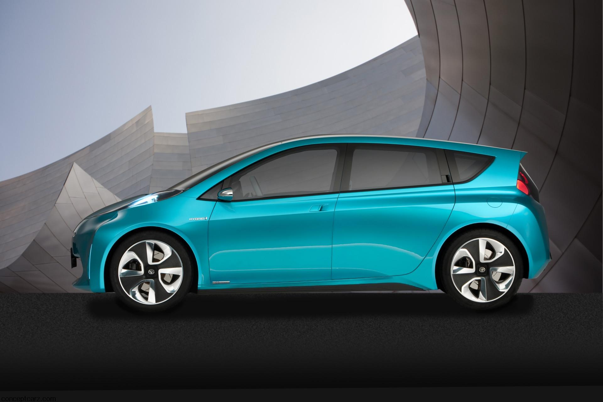 2011 Toyota Prius C Concept Pictures News Research