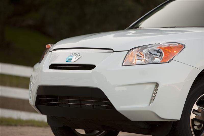 2011 Toyota RAV4 EV Demonstration Vehicle