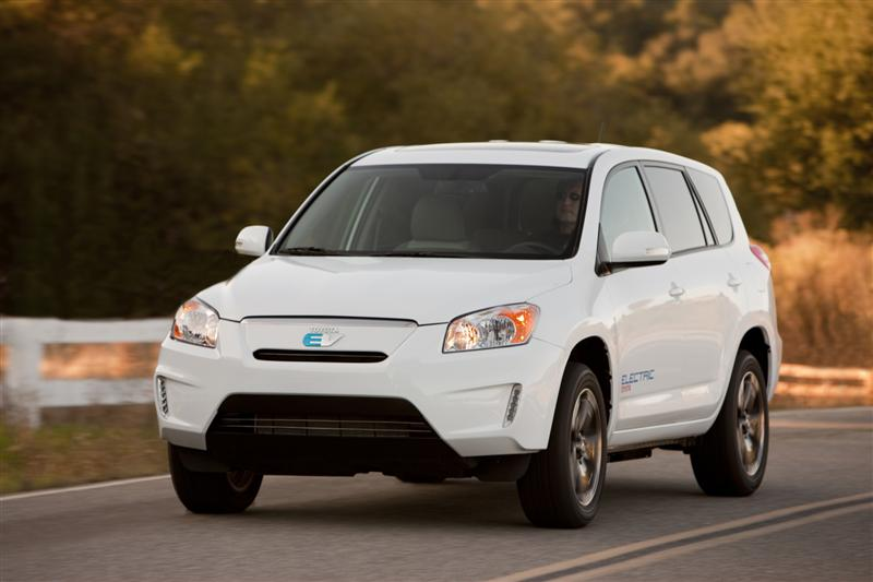 2011 Toyota RAV4 EV Demonstration Vehicle Image