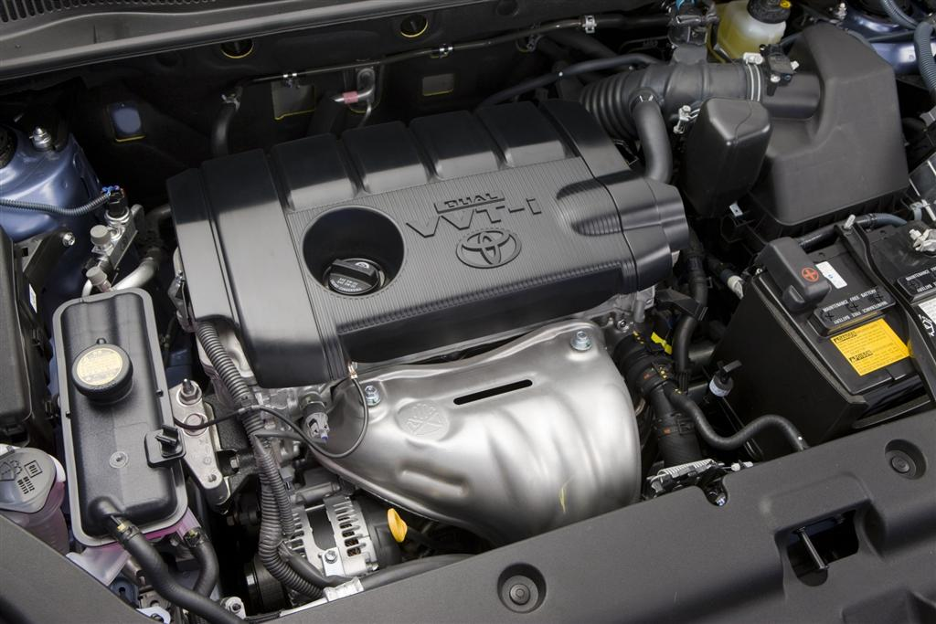 Toyota RAV4 on three cylinder engine balance