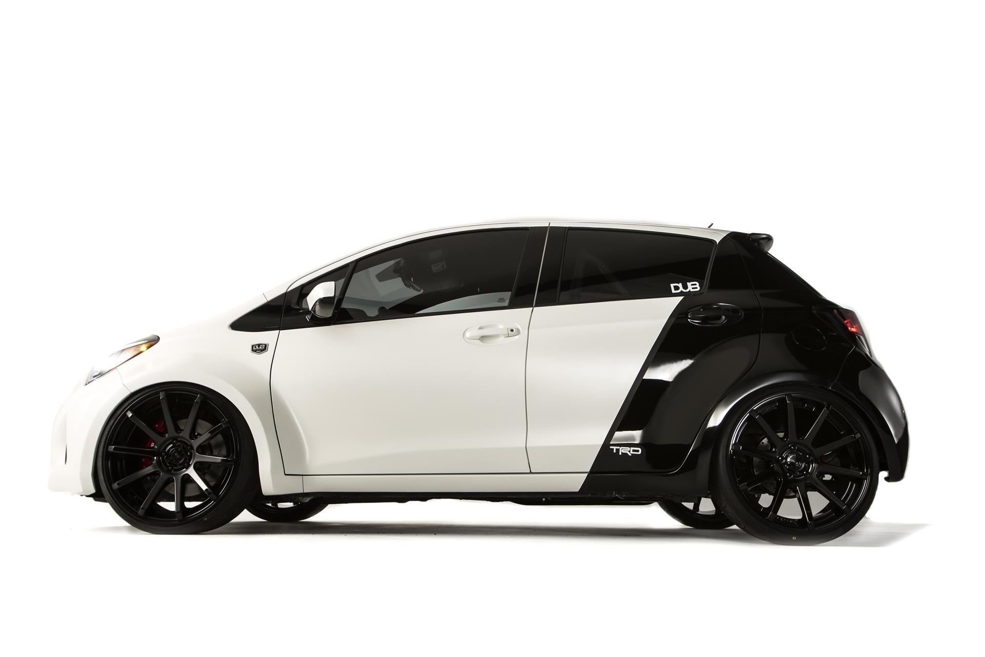 2014 Toyota Yaris Dub Edition Conceptcarz Com