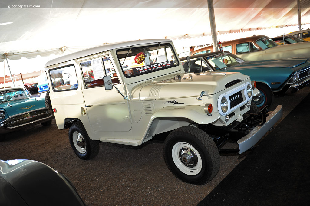 1967 Toyota Land Cruiser Fj40 Pictures History Value