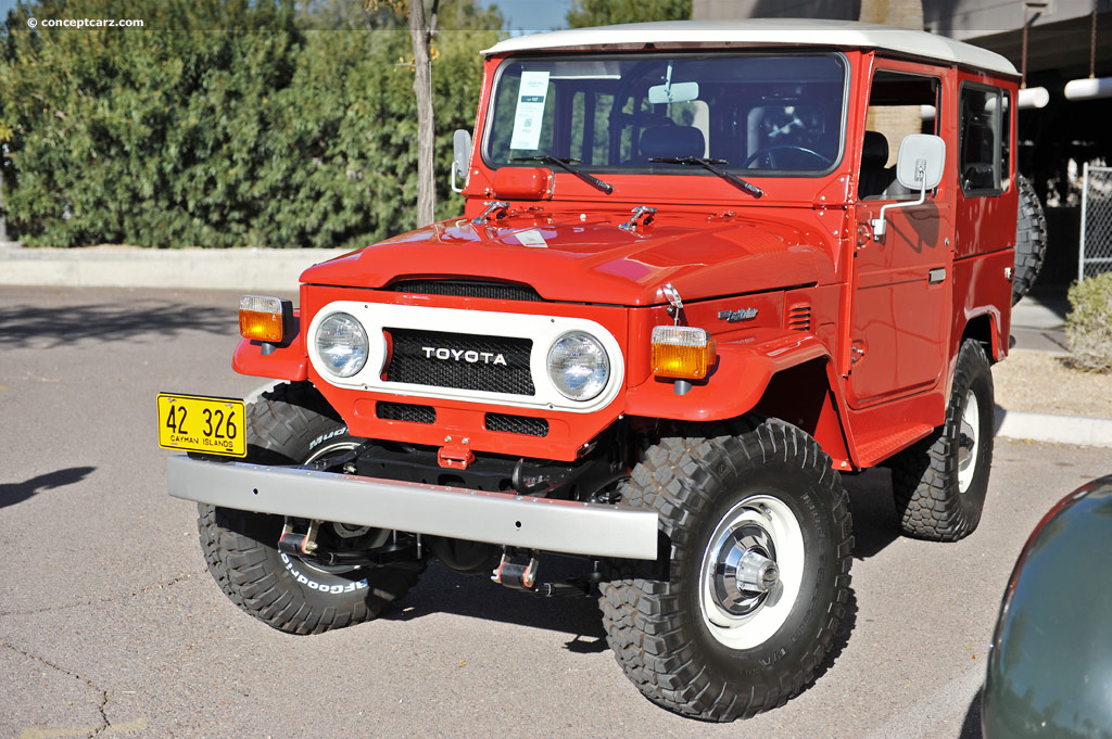 1978 toyota land cruiser fj 40 pictures history value research news. Black Bedroom Furniture Sets. Home Design Ideas