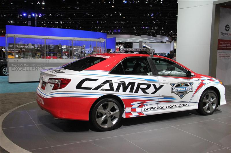 2012 toyota camry daytona 500 pace car images photo. Black Bedroom Furniture Sets. Home Design Ideas