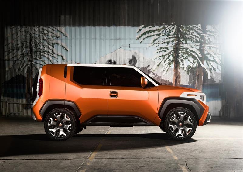 2017 Toyota FT-4X Concept Image