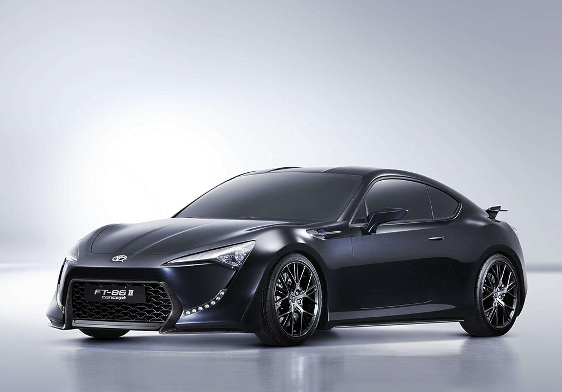 New Toyota Sports Car ft 86 2011 Toyota Ft-86 ii Concept