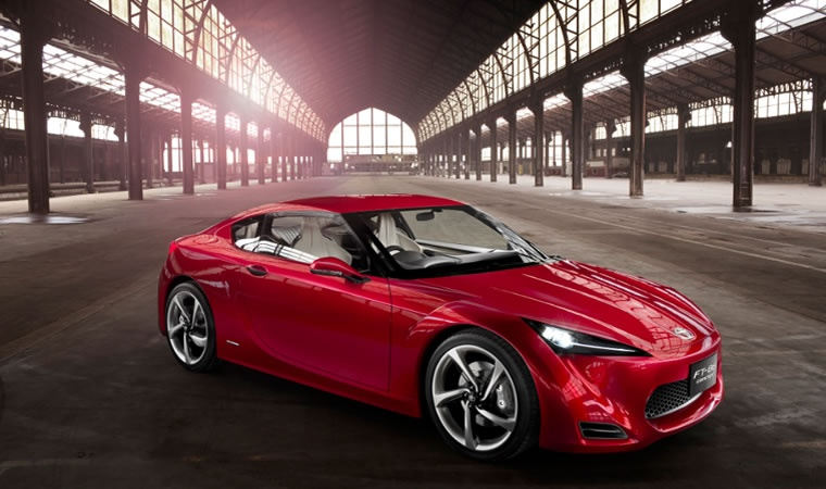 2010 Toyota FT-86 Concept Image