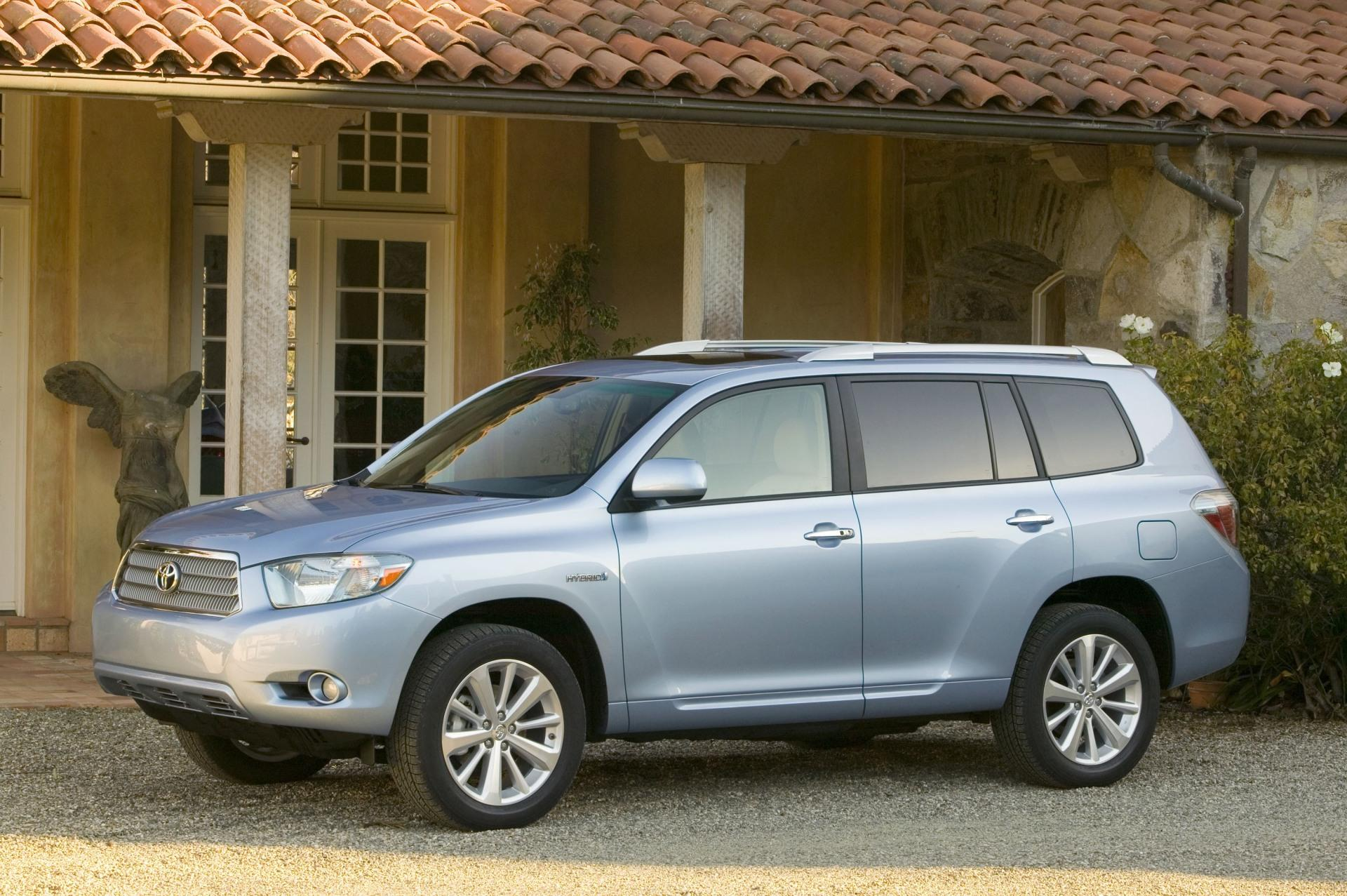 2009 toyota highlander hybrid technical specifications and data engine dimensions and. Black Bedroom Furniture Sets. Home Design Ideas