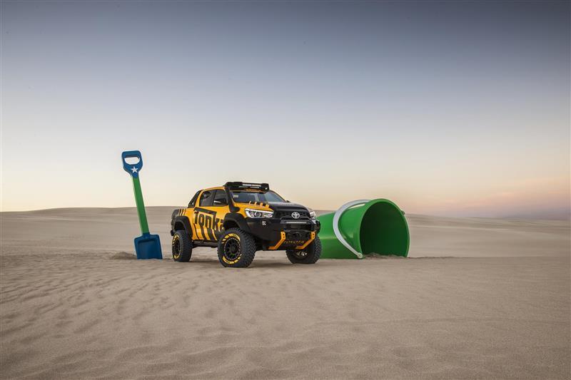 2017 Toyota HiLux Tonka Concept Image