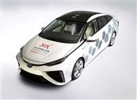 2016 Toyota Mirai Kymeta Research Vehicle image.