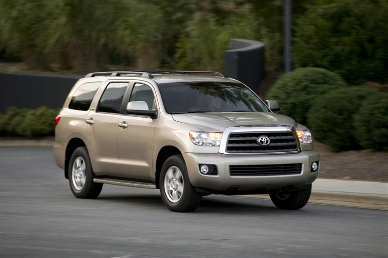 2012 Toyota Antron Brown Sequoia thumbnail image