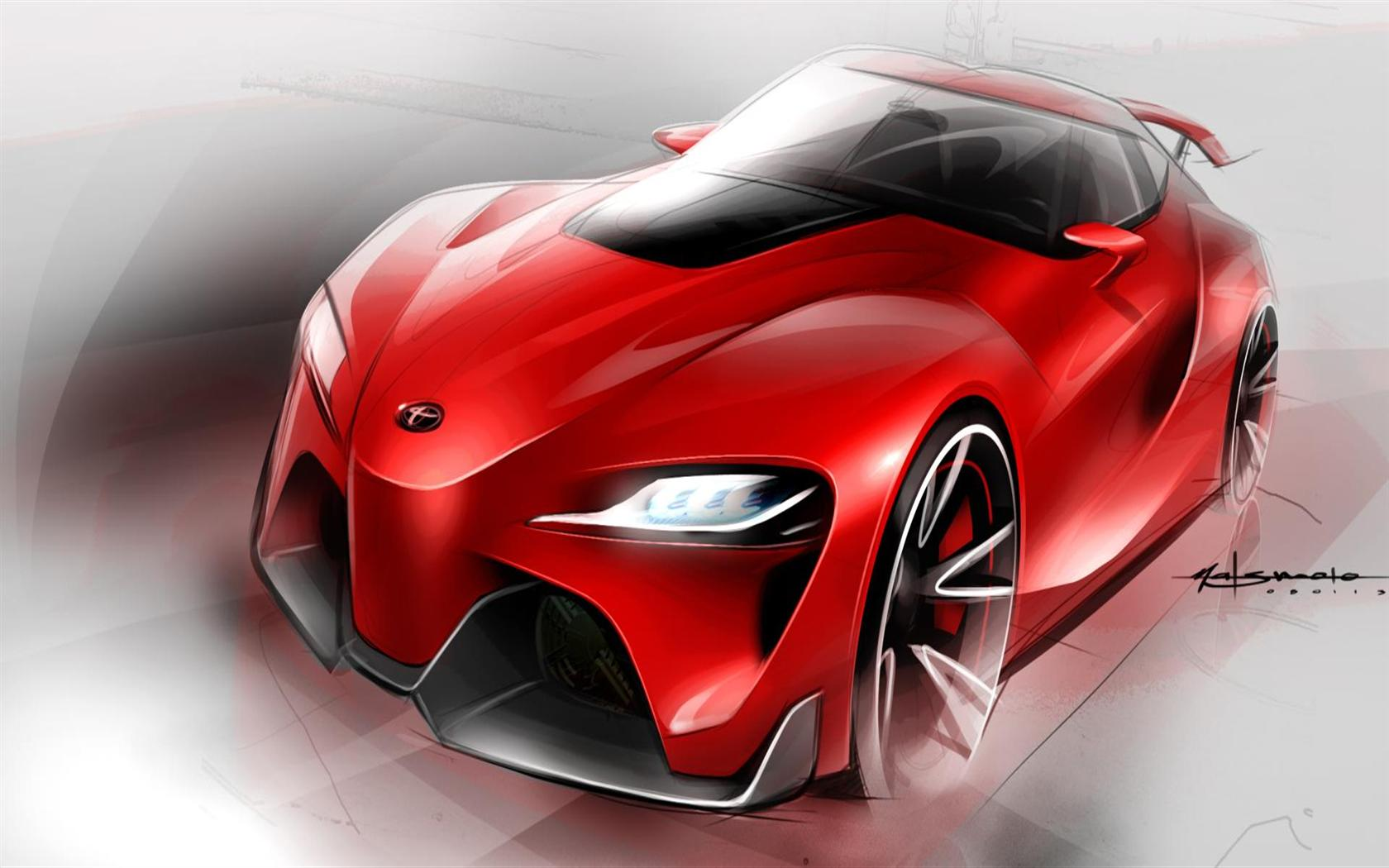 2014 Toyota ft 1 Concept Image