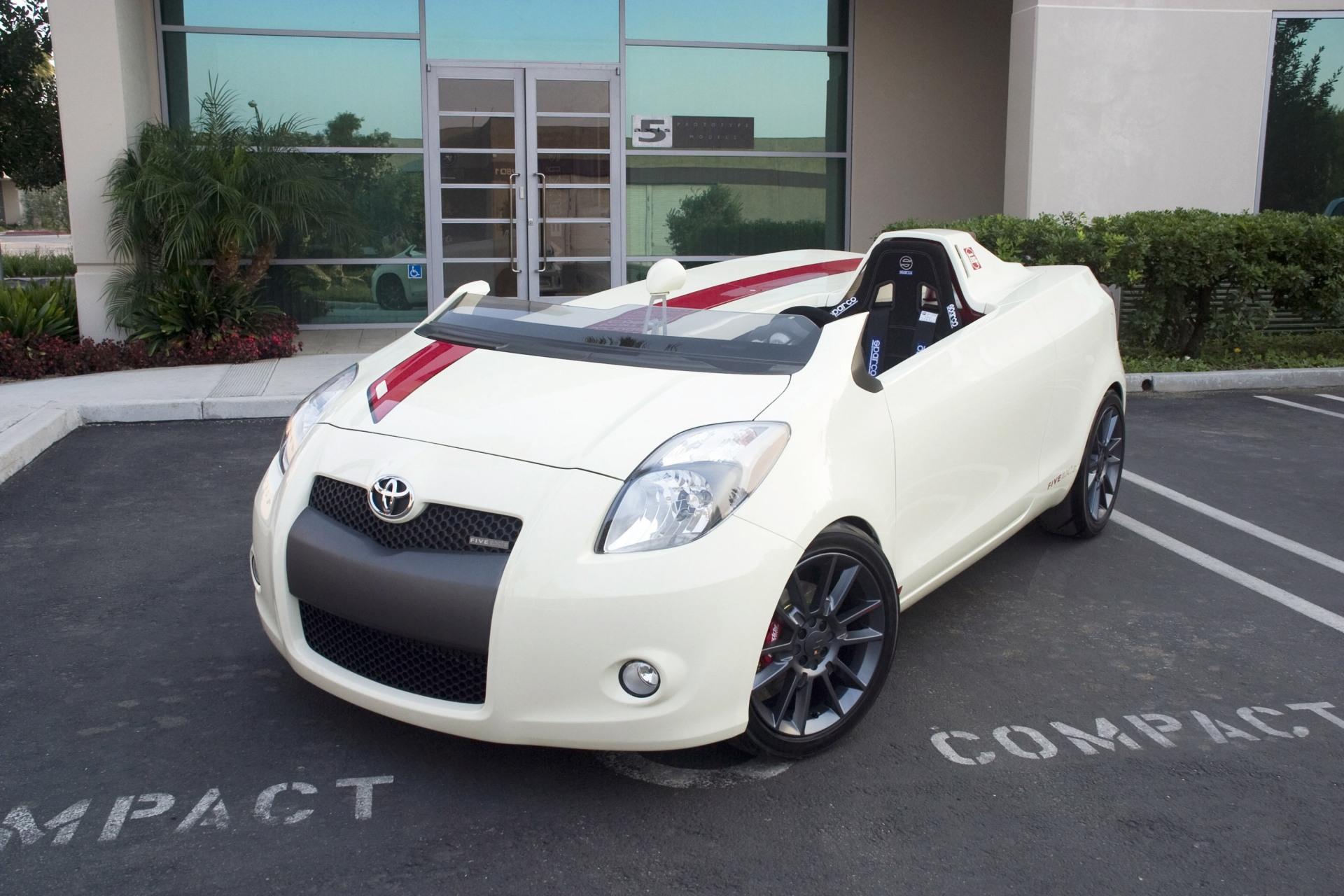 2008 Five Axis Yaris Club Sedan Conceptcarz Com