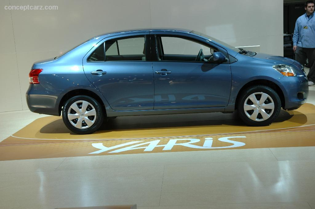 2007 toyota yaris technical specifications and data. Black Bedroom Furniture Sets. Home Design Ideas
